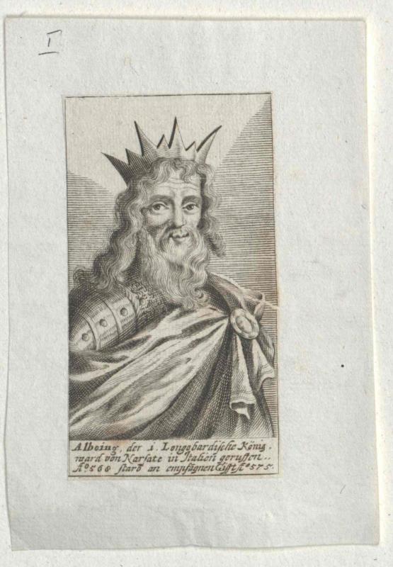 Alboin, König der Langobarden