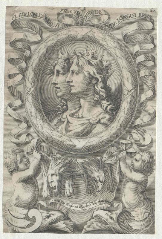 Adalwald, König der Langobarden