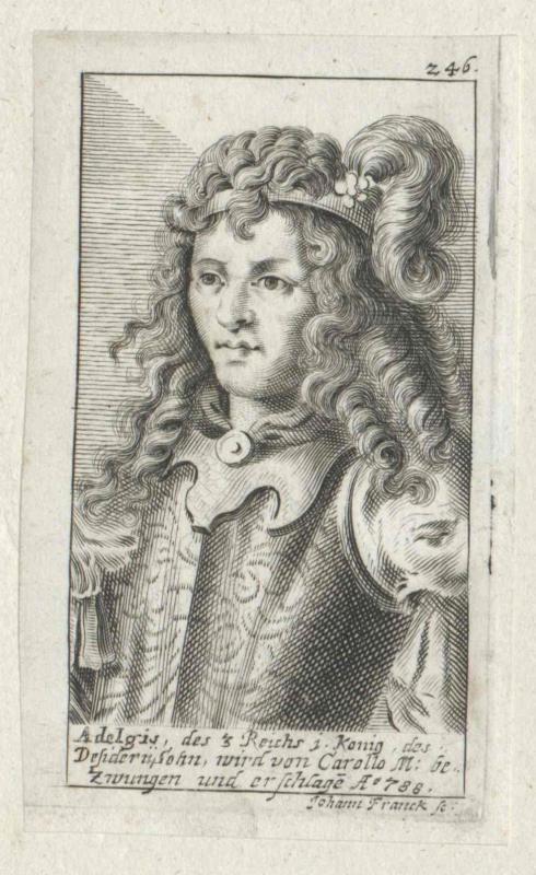 Adelchis, König der Langobarden