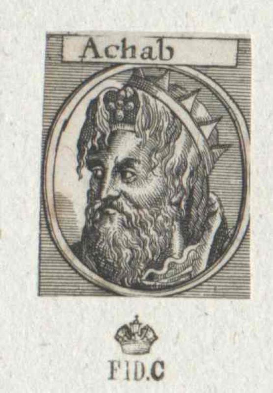 Ahab, König von Israel