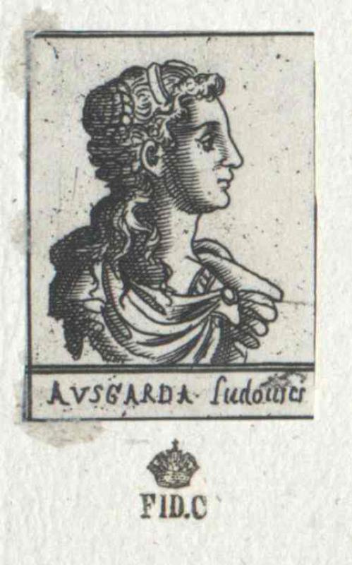 Ansgard, Königin der Westfranken