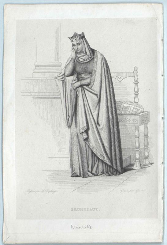 Brunhilde, Königin der Franken