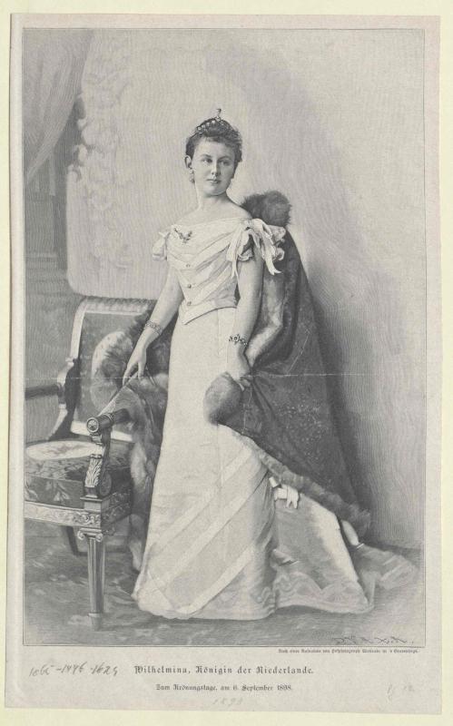 Wilhelmina, Königin der Niederlande