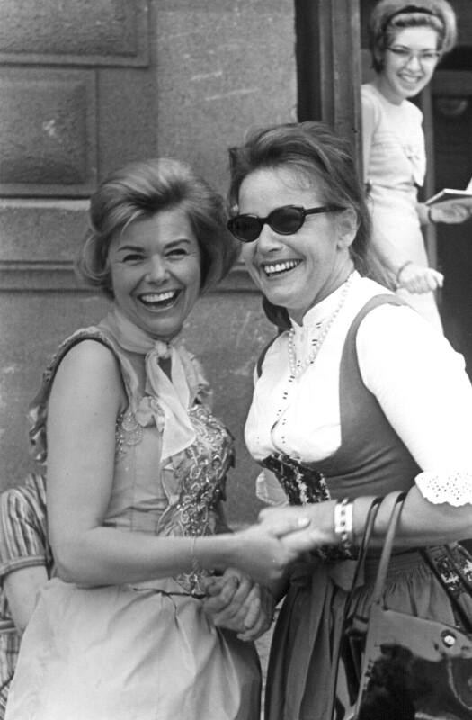 Elfriede Ott und Maria Schell