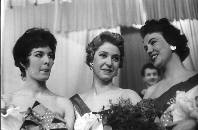 Wahl der Miss Austria in der Wiener Börse