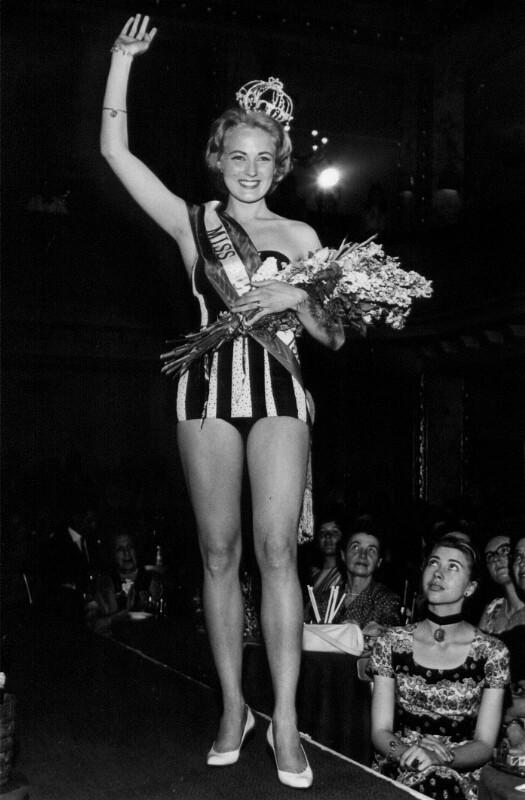 Wahl der Miss Austria 1958