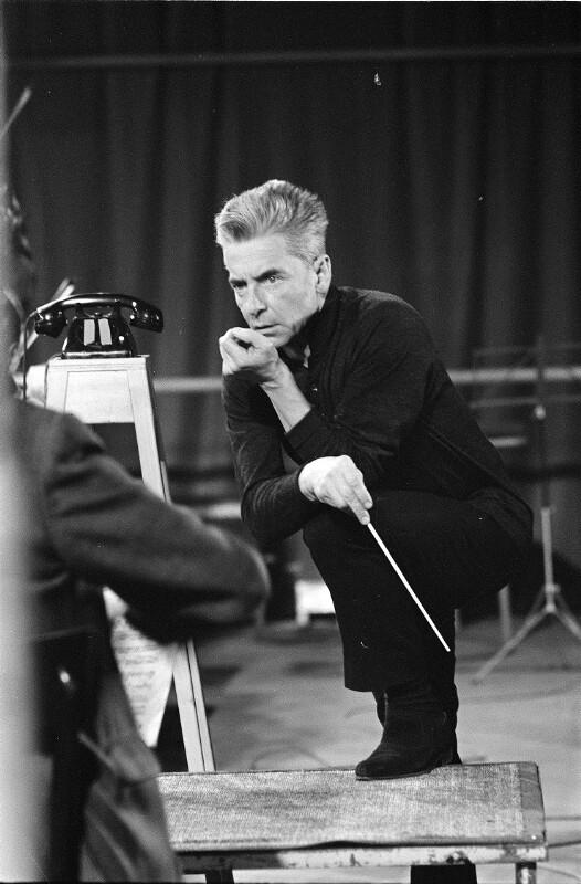 Bildnis Herbert von Karajan (1908 - 1989)