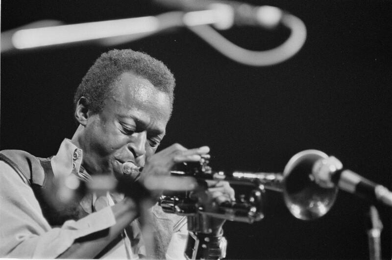 Bildnis Miles Davis