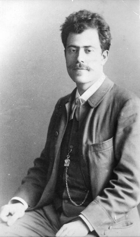 Gustav Mahler, 1886©Bildarchiv Austria, ÖNB