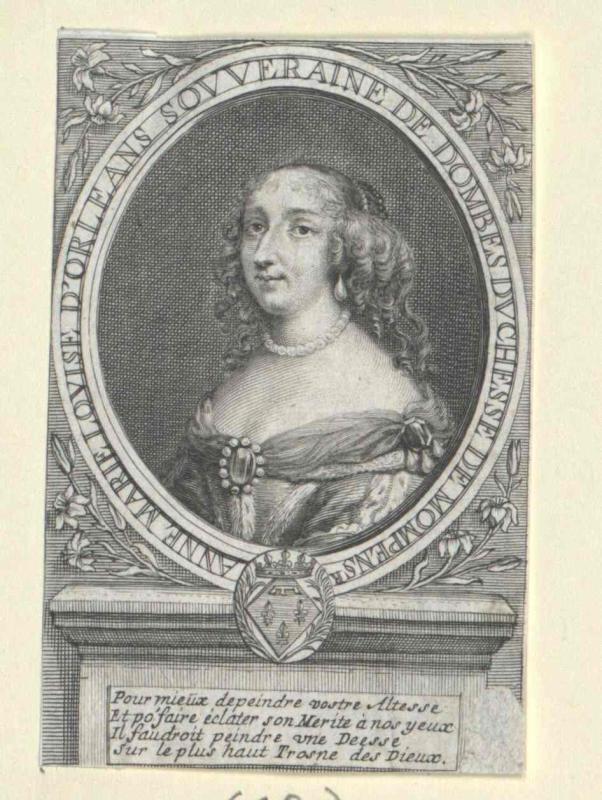 Anna Maria Luise, Prinzessin von Orléans
