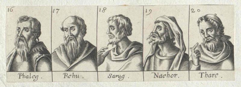 Fünf Personen des Alten Testaments