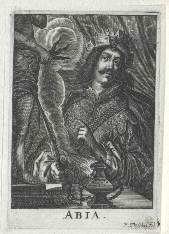 Abija, König von Juda
