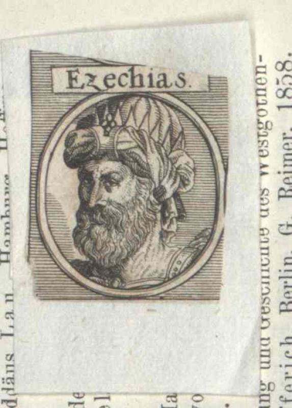 Ezechias, König von Juda