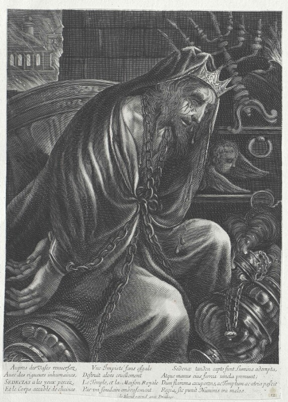 Zedekia, König von Juda