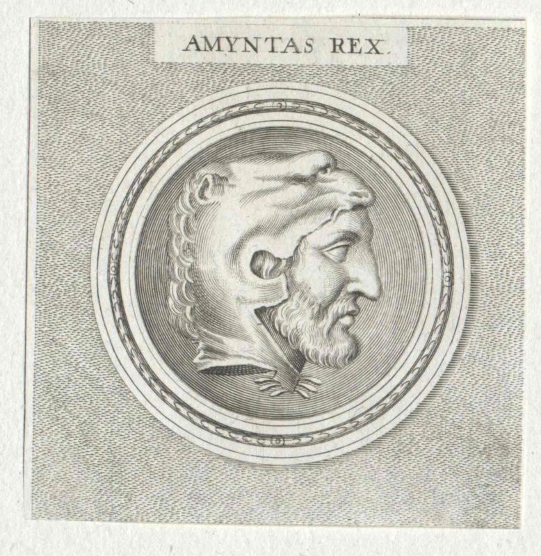 Amyntas I., König von Makedonien