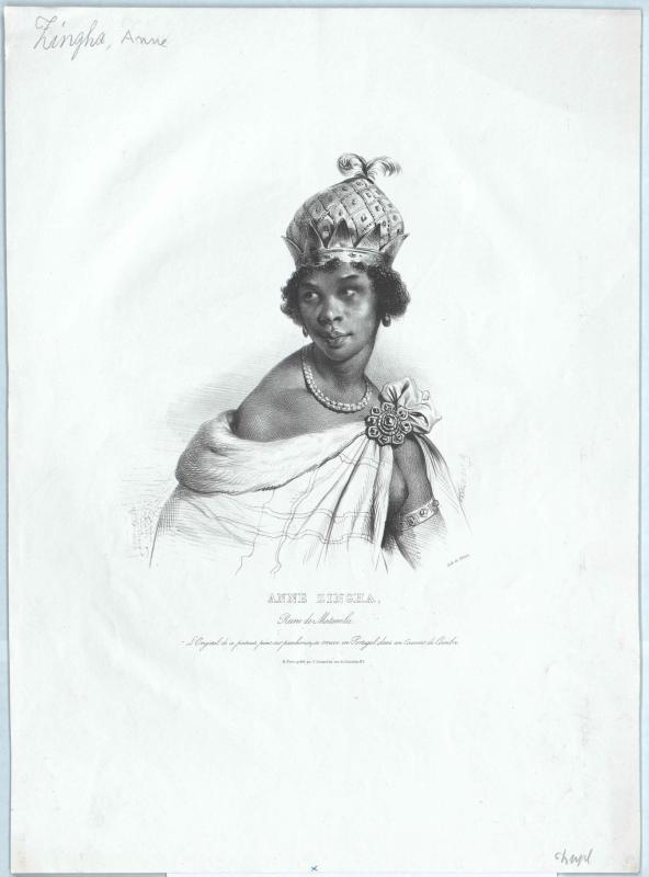 Ann Zingha, Königin von Matamba