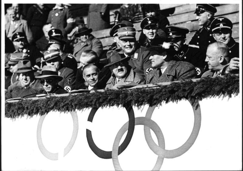 Olympische Winterspiele 1936 in Garmisch-Partenkirchen