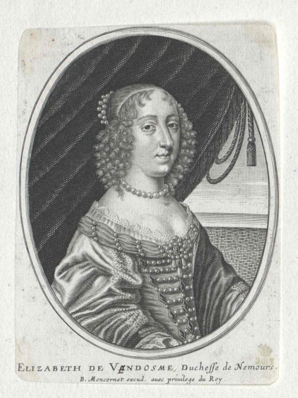 Vendôme, Elisabeth (Maidemoiselle) de