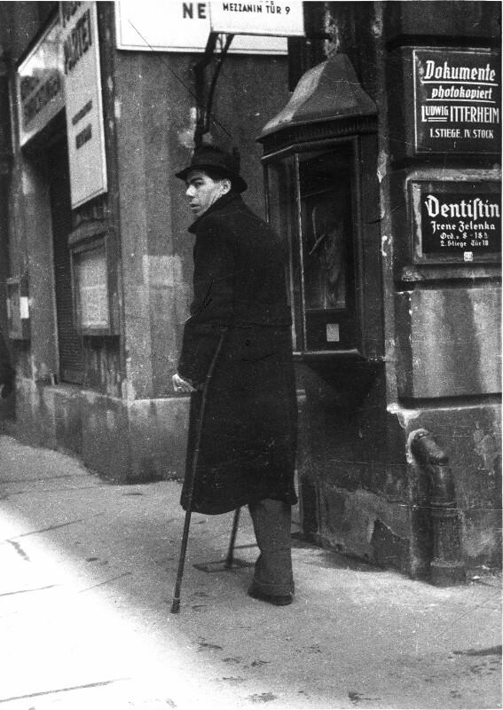 Kriegsversehrter in Wien