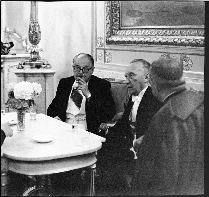 Staatsbesuch des deutschen Bundeskanzlers Konrad Adenauer in Österreich