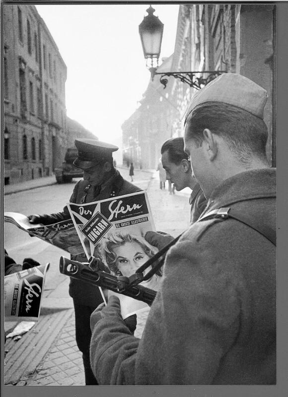 Soldaten in Budapest