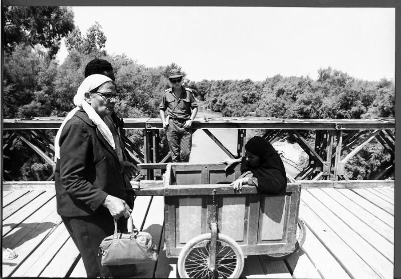 Die Allenby-Brücke zwischen Israel und Jordanien
