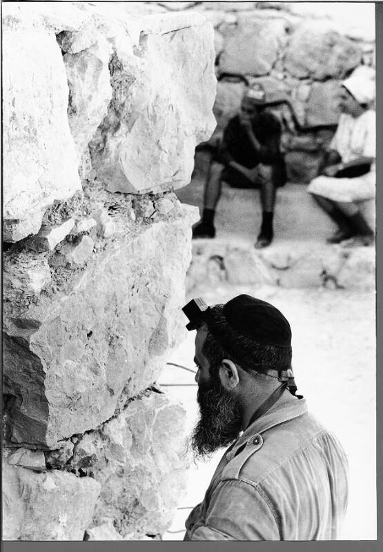 Betender Israeli in Masada