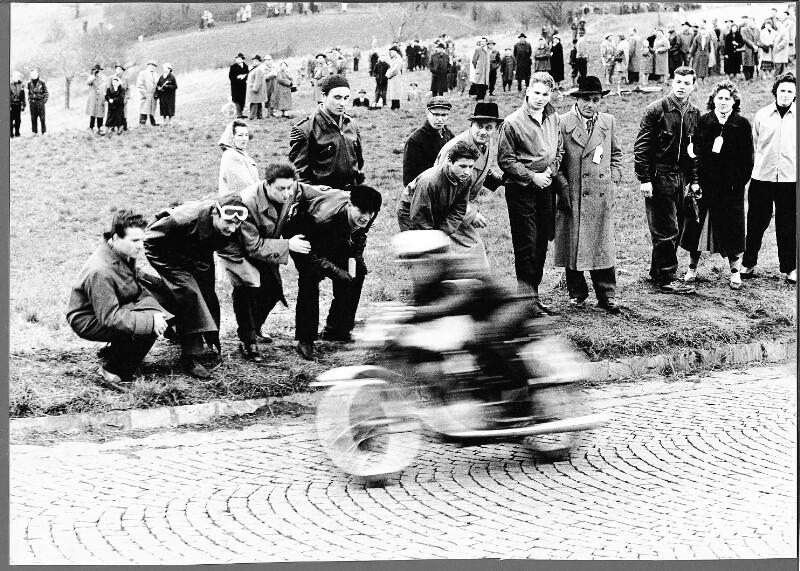 Motorradrennen auf der Höhenstraße, Wien XIX