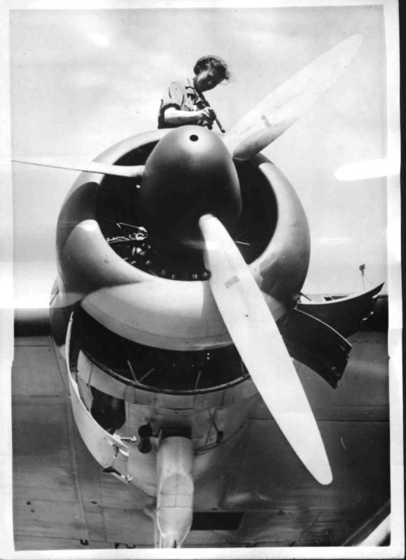 Anstrich einer He 115