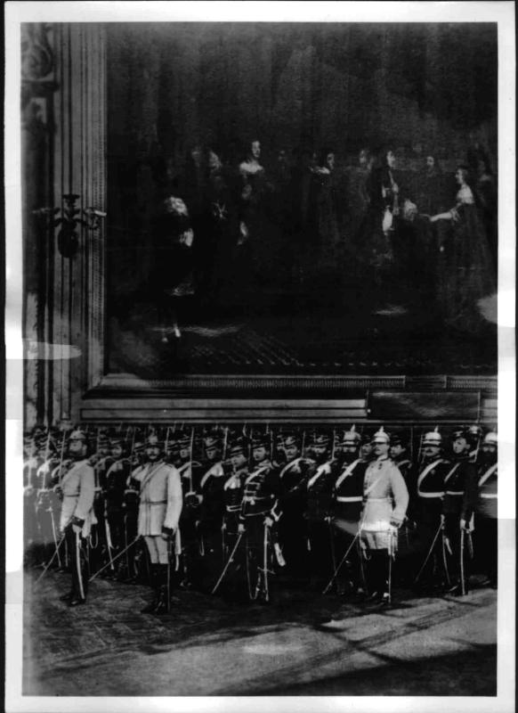 Reichsgründungstag in Versailles