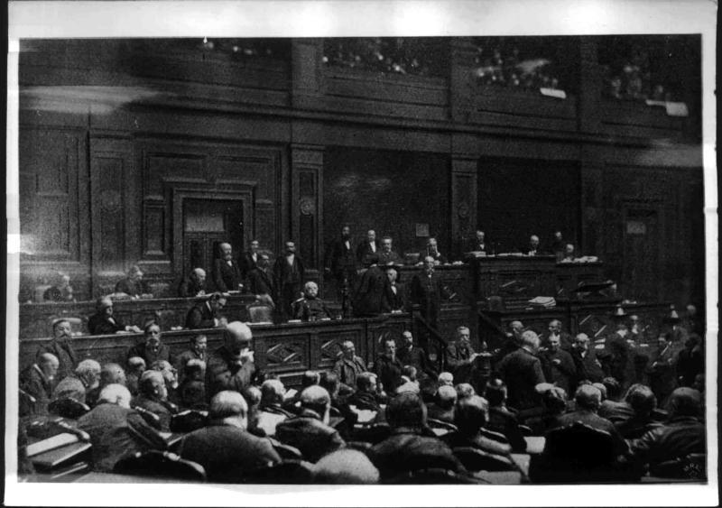 Reichstag unter Bismarcks Führung