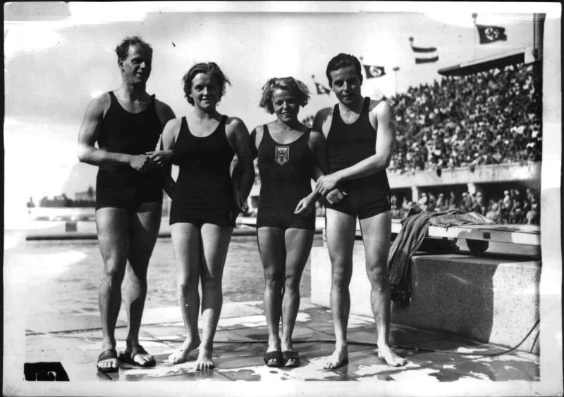 Schwimmländerkampf Deutschland - Österreich