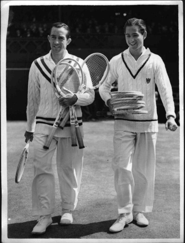 Zwei Amerikaner im Endspiel von Wimbledon