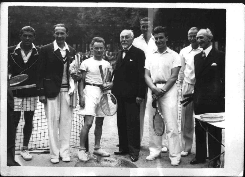 Tennisplätze in den Jardins du Luxembourg