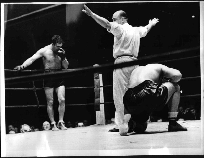 Boxkampf Schmeling gegen Dudas