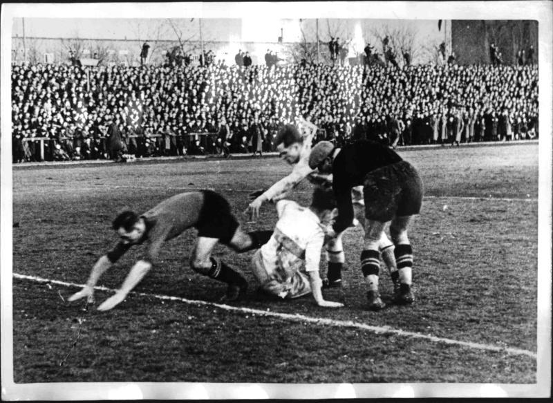Reichsbund-Pokalspiel Schlesien - Ostmark 4:1