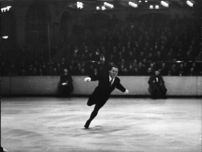 Eiskunstlauf-WM im Berliner Sportpalast