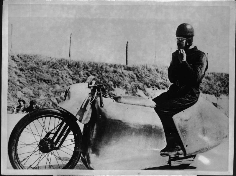 Englands Rekordfahrer Fernihough
