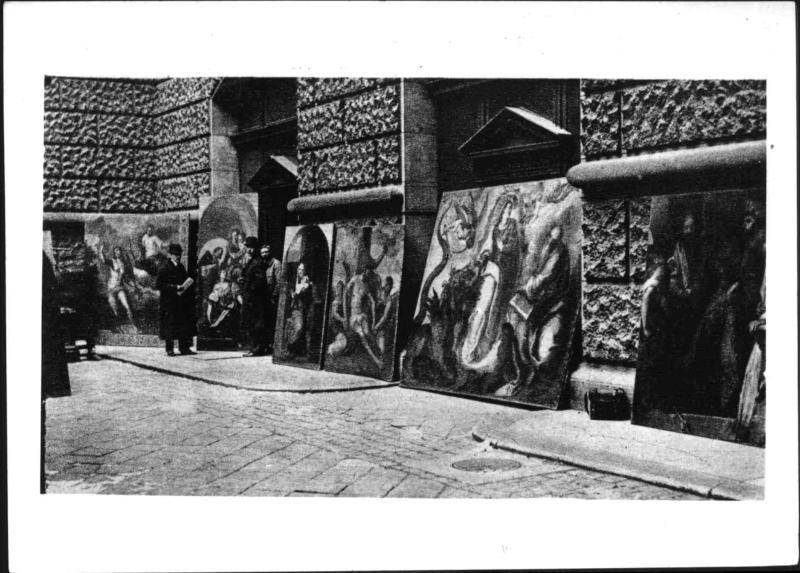 Beschlagnahme von Gemälden