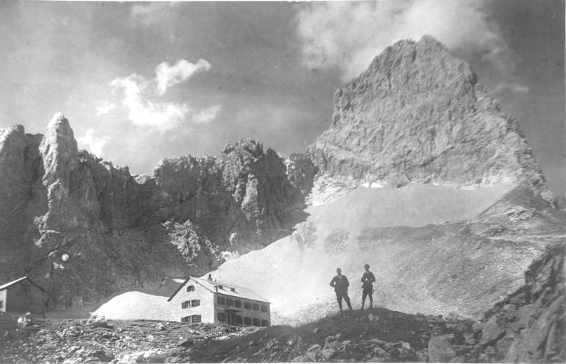 Lamsenjochhütte, Karwendelgebirge