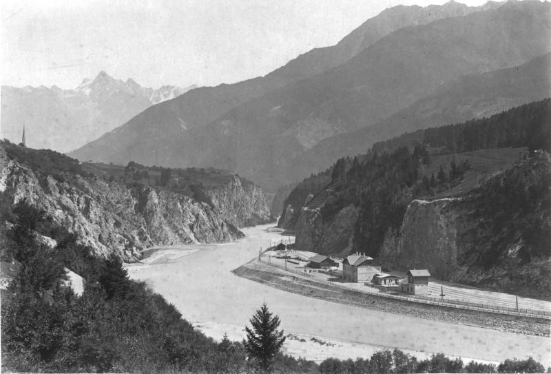 Bau der Arlbergbahn, Innsbruck – St. Anton