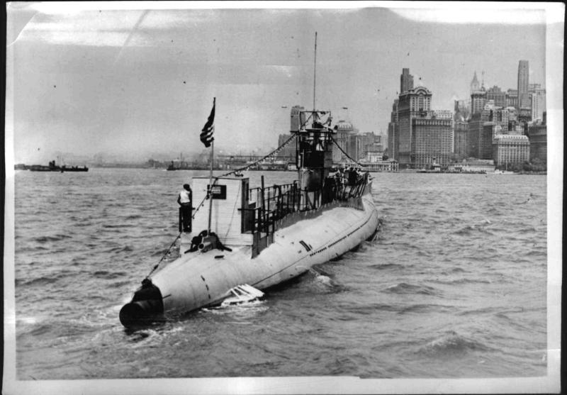 """Einziges """"Privat-U-Boot"""" der Welt in New York"""