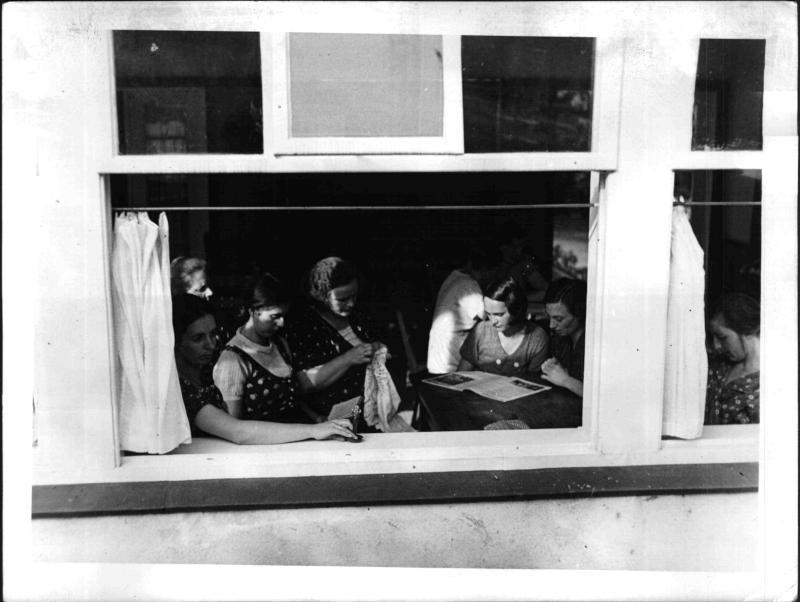 Das erste Heim für werdende Mütter im Gau Wien