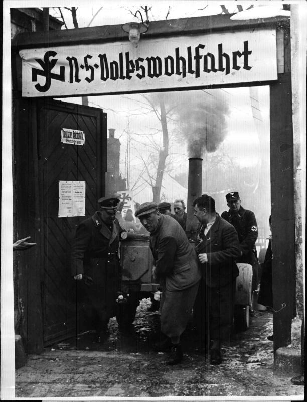 NSV-Ausspeisung in Mähren