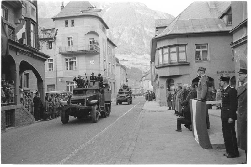 Besatzungszeit in Tirol
