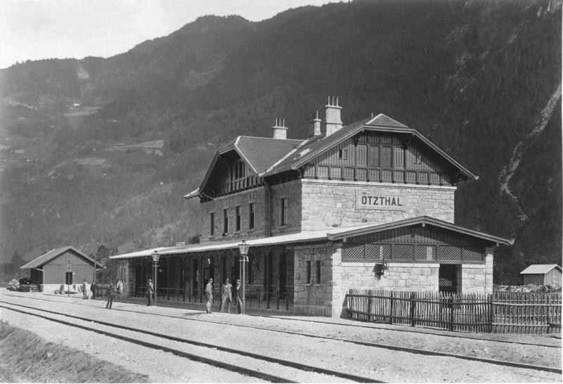 Arlbergbahn, Bahnhof Ötztal