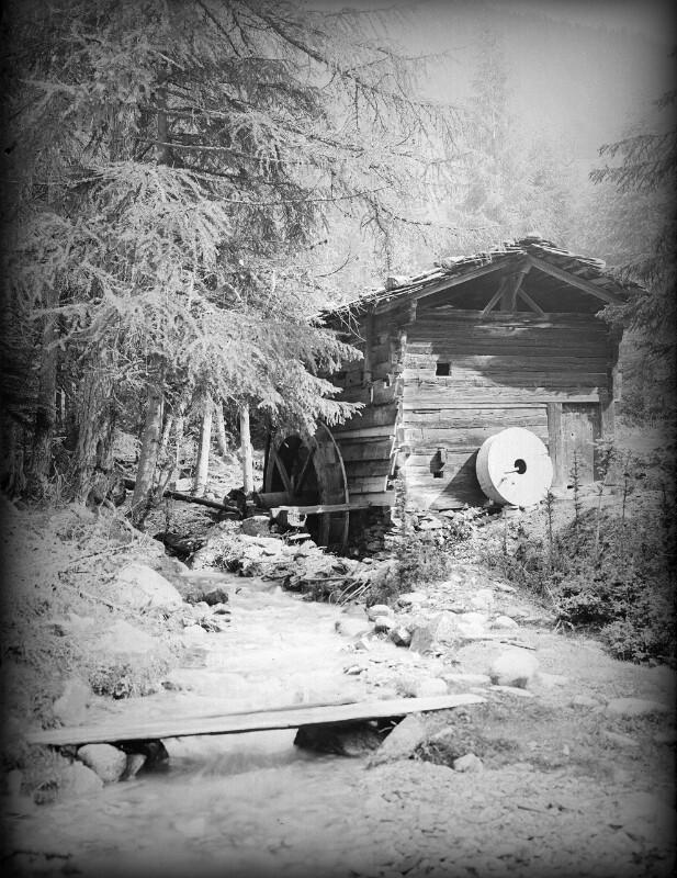 Mühle im Pfitschtal