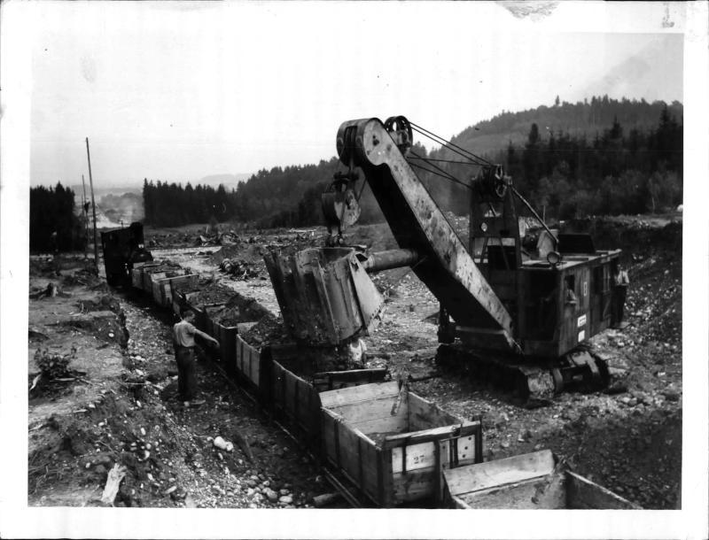 Bau der Reichsautobahn in Österreich