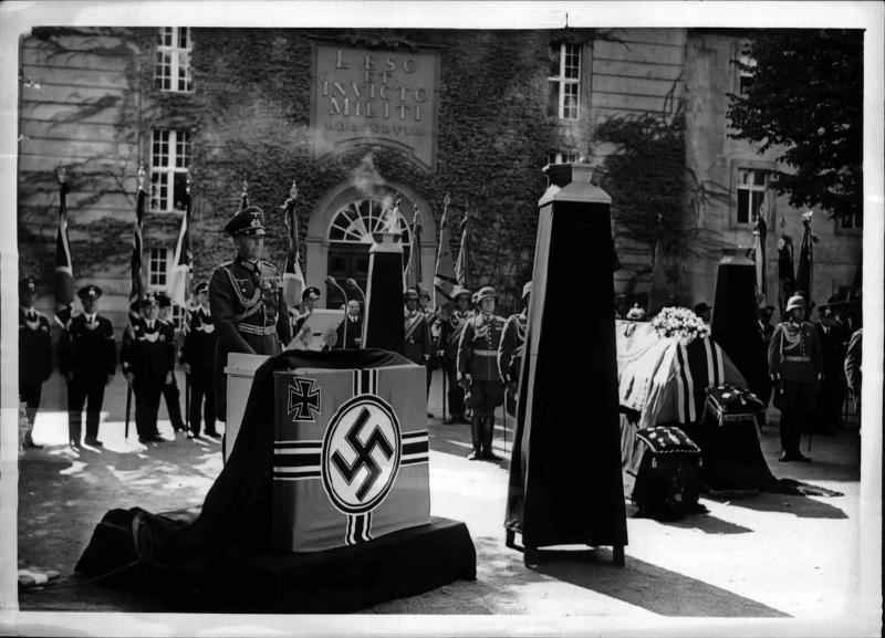 Staatsbegräbnis für General von Watter