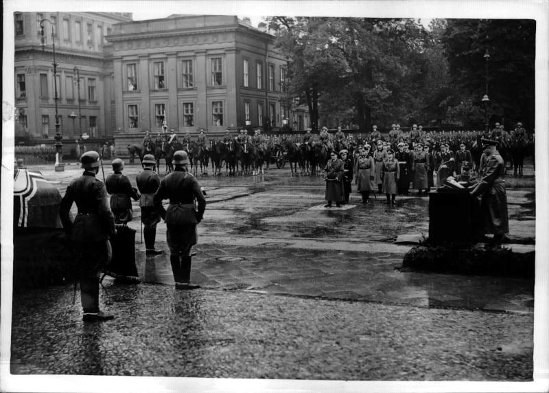 Staatsakt für Generaloberst Freiherr v. Fritsch